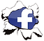 our facebook link icon