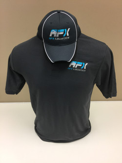 Embroidered Hat and Polo Shirt