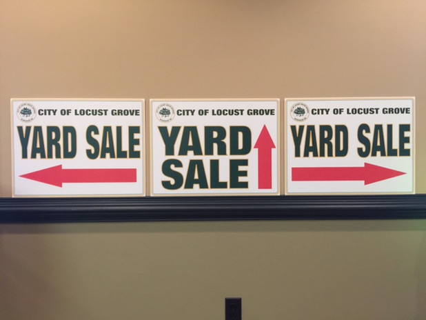 Yard Sign Design