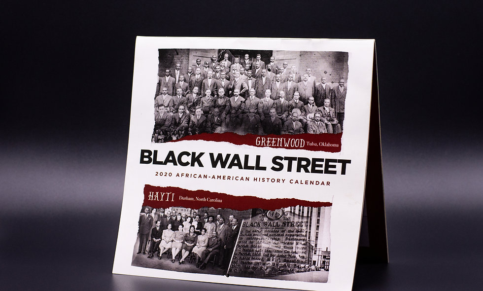 2020 African-American History Calendar