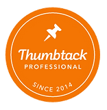 We are listed as a Thumbtack Professional