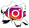 our instagram link icon