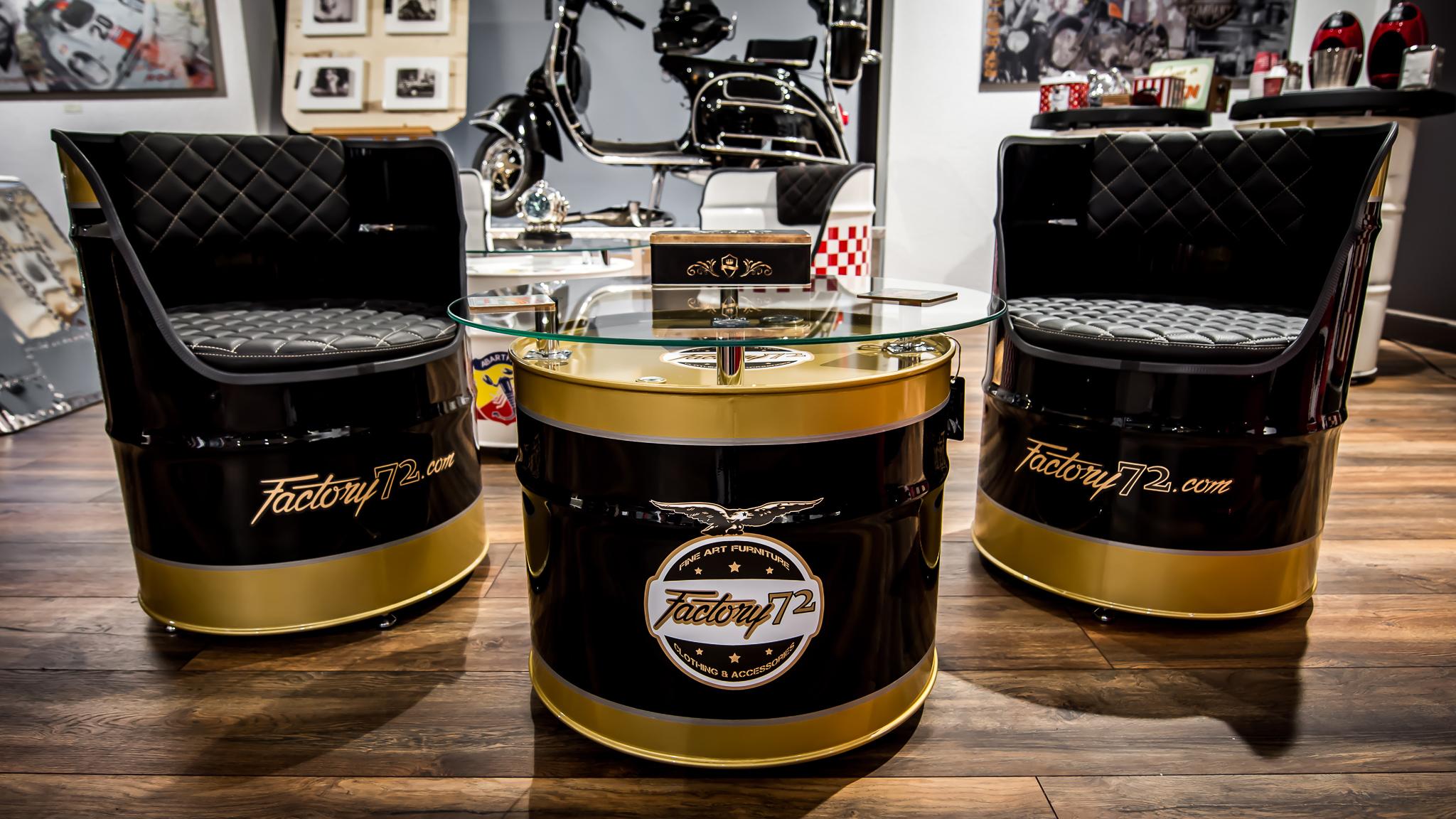 Oil Drum Furnitures