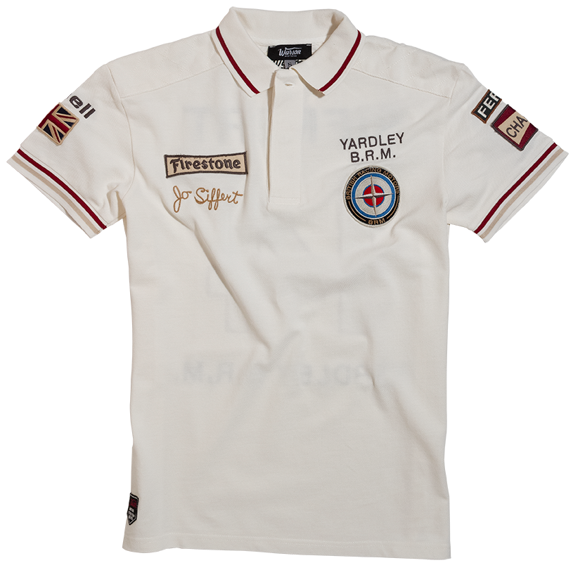 Jo Siffert white Polo