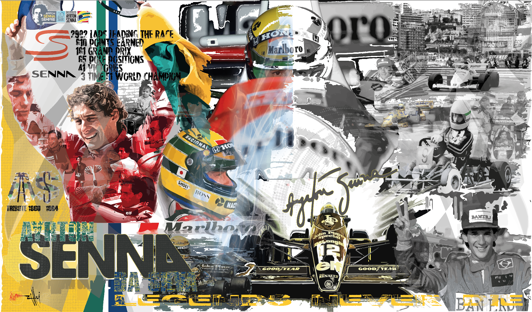 Ayrton Senna The Legend
