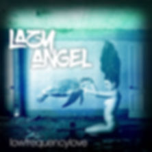 "Lazy Angel album cover for EP ""Low Frequency Love"""