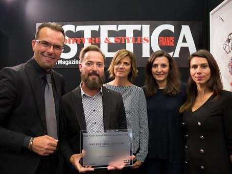 Premio Best Salon Award 2015 con el proyecto Noguera Hair & Art Salon