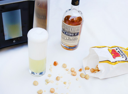Salted Macadamia infused blended scotch