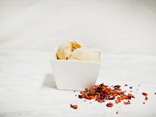 Earl Grey & Rose Ice Cream