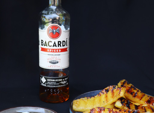 Grilled & Rum Infused Pineapple