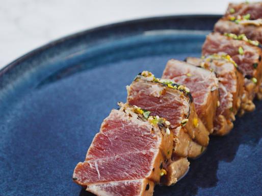 Marinated Tuna Tataki