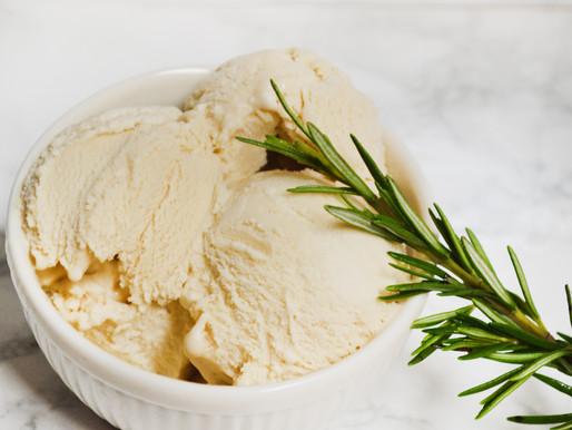 Rosemary Ice Cream