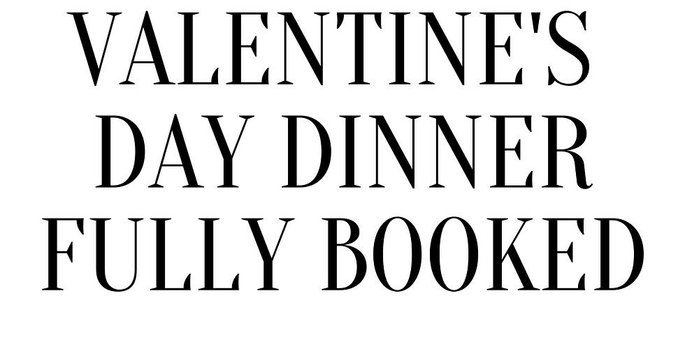 VALENTINE'S DAY DINNER AT WINEHOUSE RESTAURANT