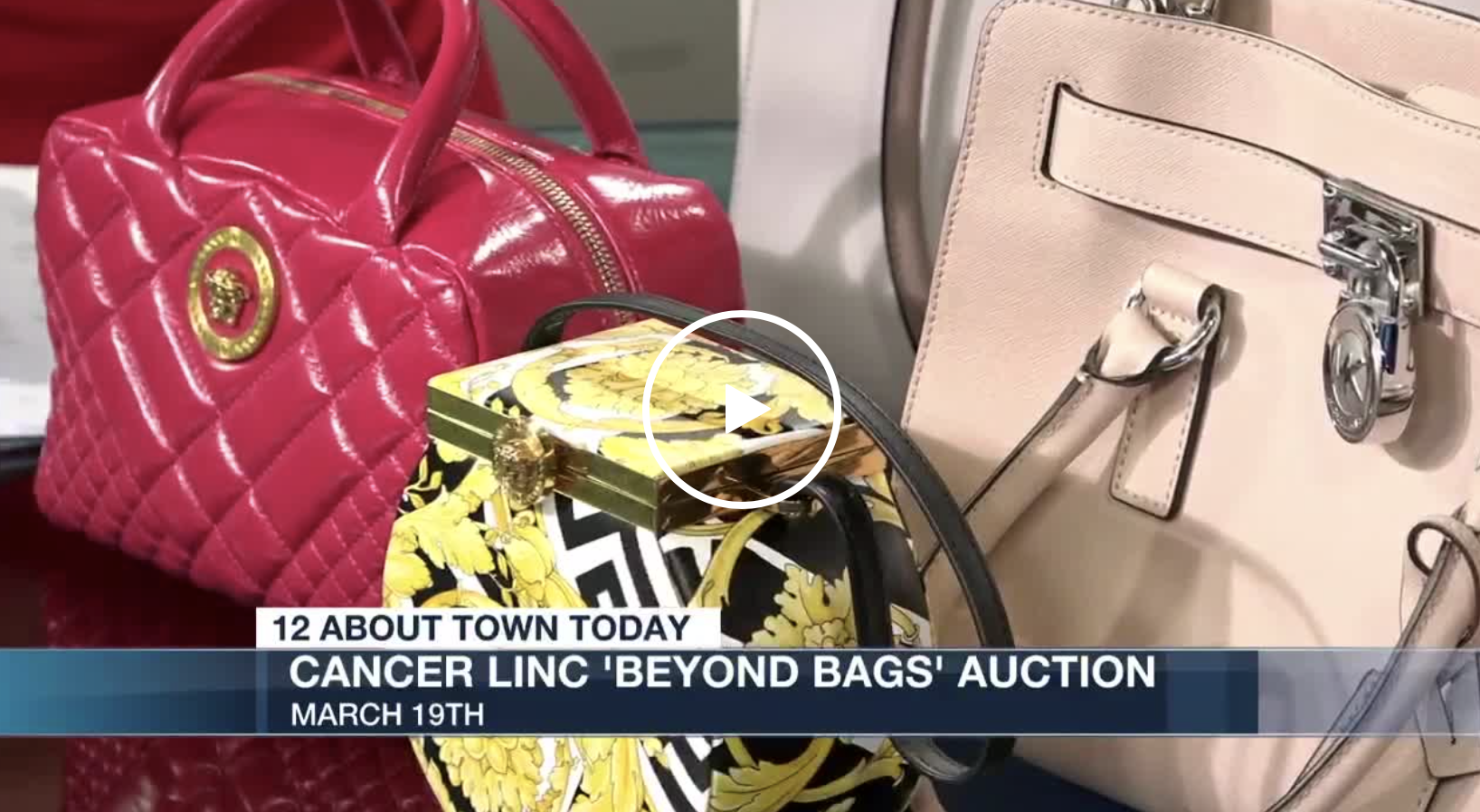 CancerLINC's Beyond Bags Auction on NBC12