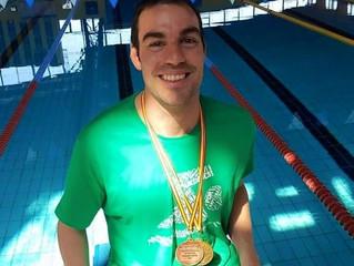 Primer nadador del club en ser deportista de alto rendimiento