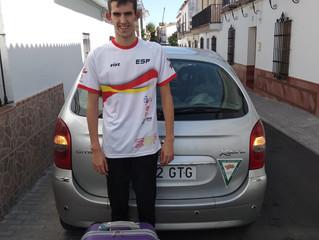 ALEJANDRO CON LA SELECCIÓN ESPAÑOLA!!