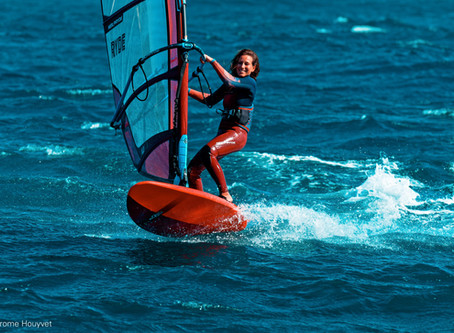 Business woman and living the windsurf life: meet Greta Marchegger