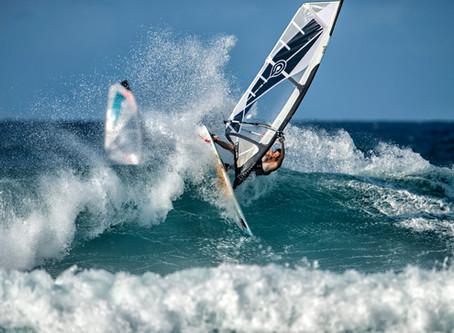 what does it mean to be committed to windsurfing: meet Carolina butrich