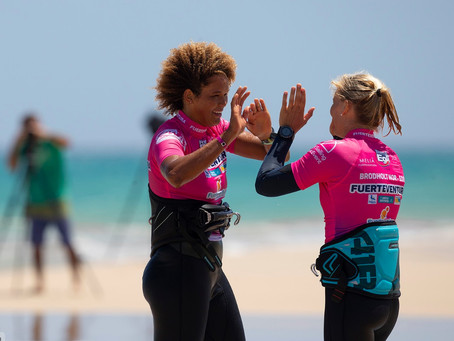 Windsurf Girls Community: it's all about pushing each other