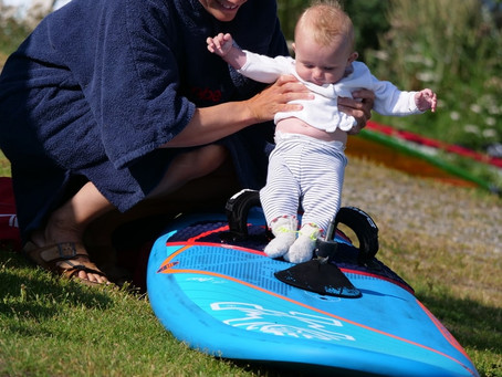 Being a Mum and a Windsurfer
