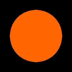 oranžová světlá