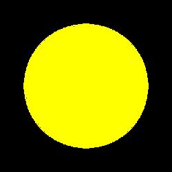 žlutá světlá