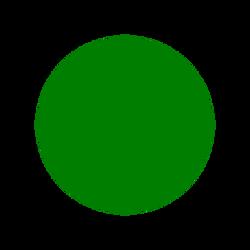 zelená světlá