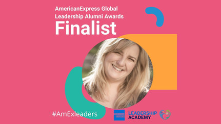 CEO Victoria recognised at the American Express Alumni Awards