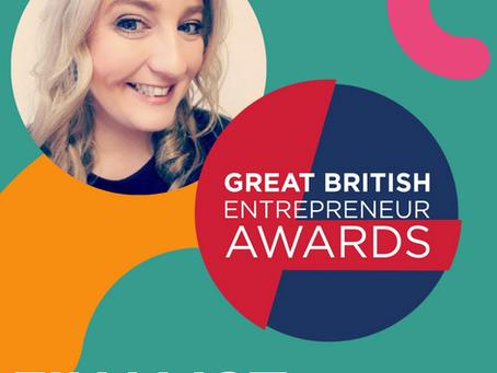 Unforgettable Experiences CEO Victoria Burnip Finalist in the Great British Entrepreneur Awards!