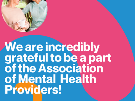 Unforgettable Experiences and the Association of Mental Health Providers