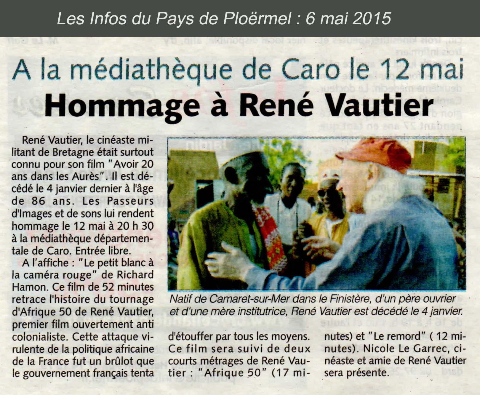 Homage à René Vautier