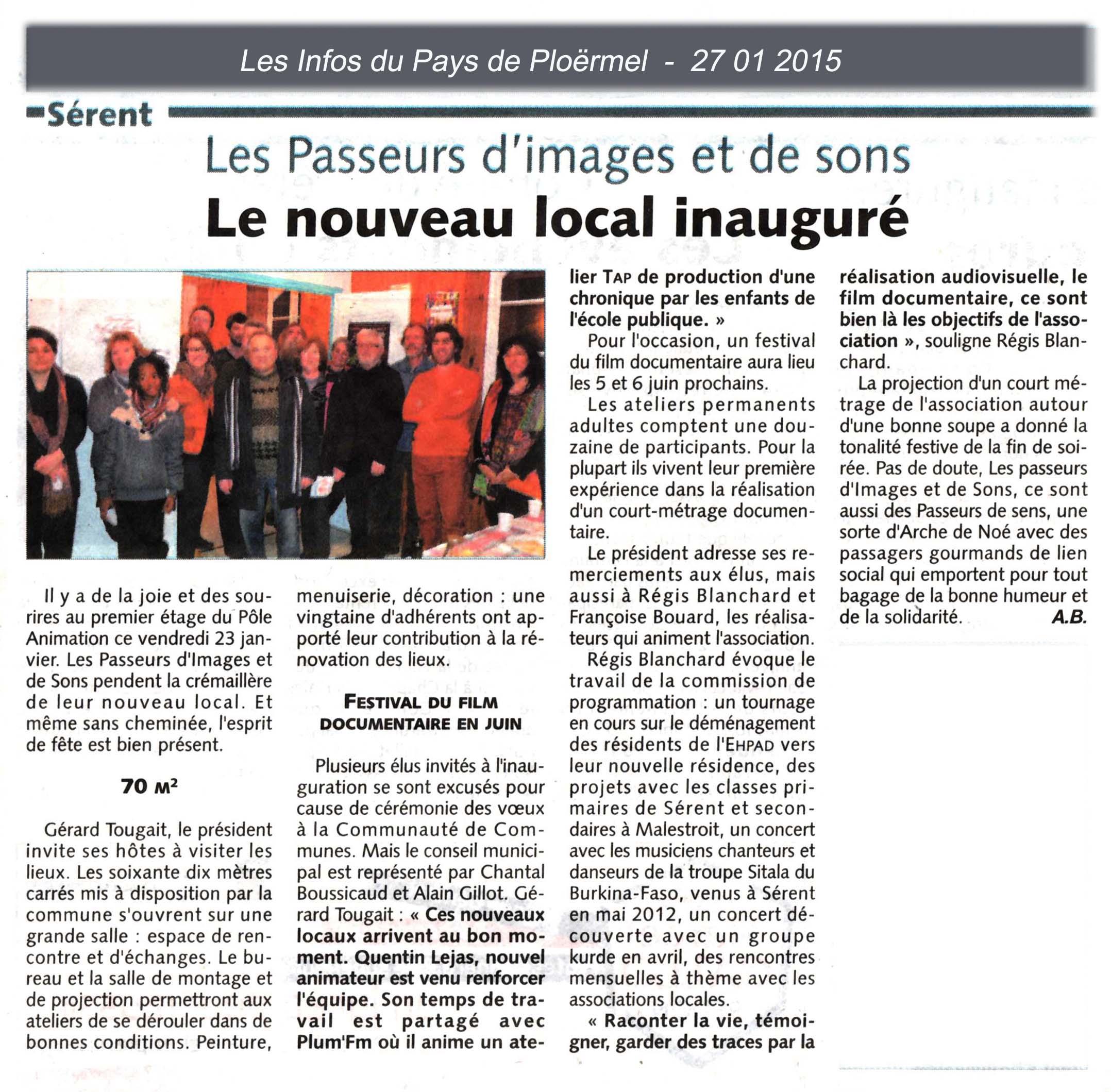 Inauguration local