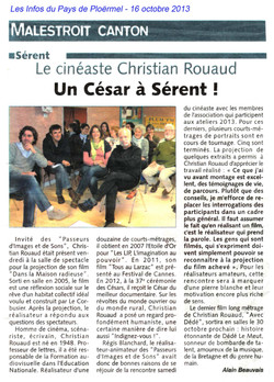 Christian Rouaud à Sérent