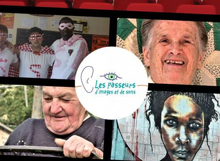 """Projection """"Mémoire des gens et des lieux"""""""