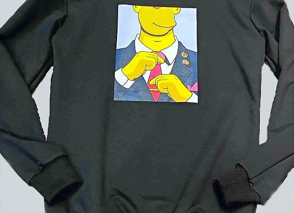 Sweat Homer Noir
