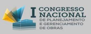 Platz no Congresso Nacional de Planejamento e Gerenciamento de Obras