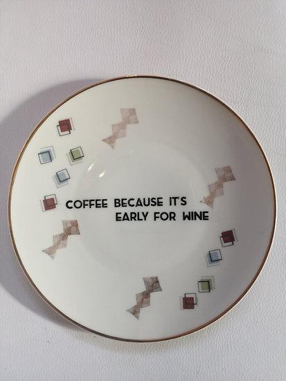 Wallplate 'Coffee' Size M