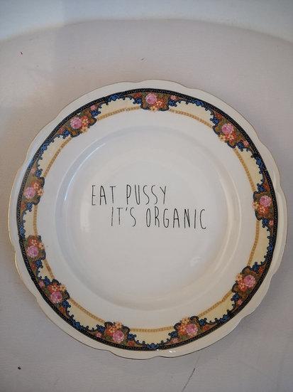 Wallplate 'Eat Pussy' Size L