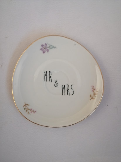 Ring Bowl 'Mr & Mrs'
