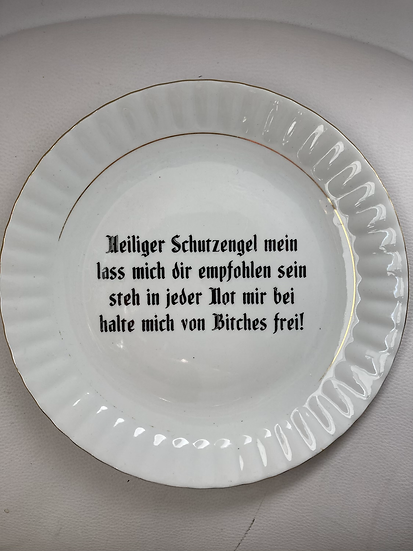 Wallplate 'Bitches' Size L
