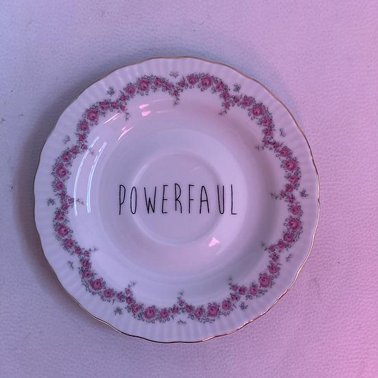 Wallplate 'powerfaul' Size S