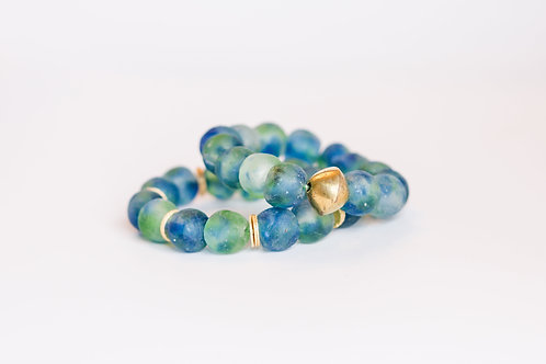 Glaze | Glass Beads Bracelet