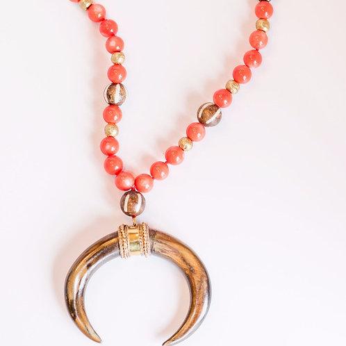 Pierce Coral Necklace