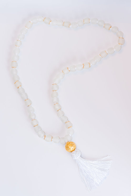 Glaze I Tassel Necklace