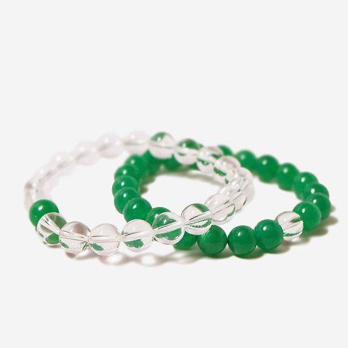 Lure | Jade Bracelet Stack