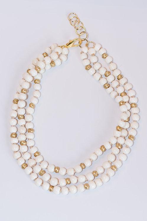Classic | Bone Beads Necklace