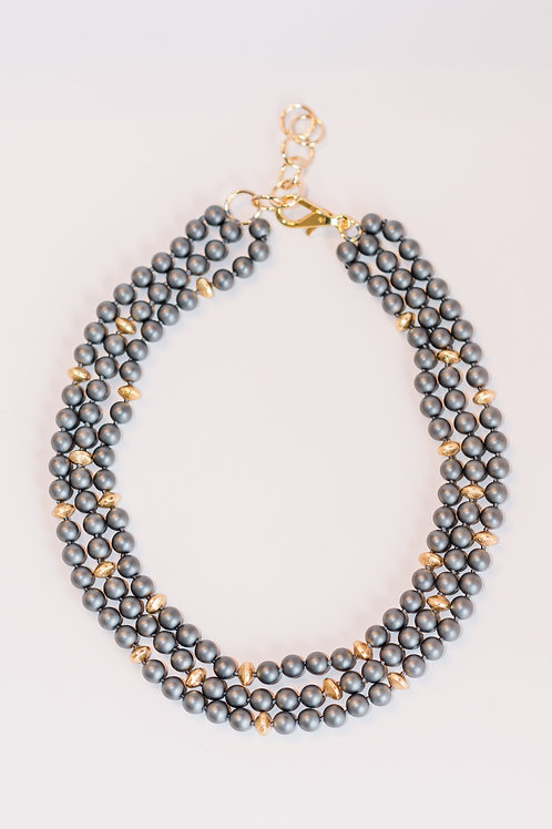 Classic | Hematite Necklace