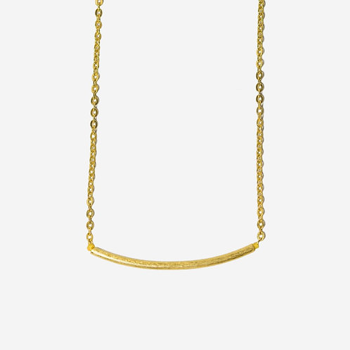 Nini I Gold Bar Necklace