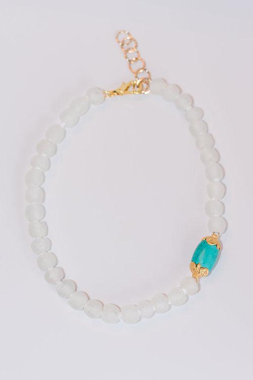Glaze | Turquoise + Glass beads