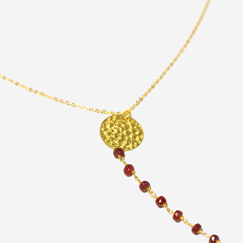 Desire I Ruby Strand Necklace